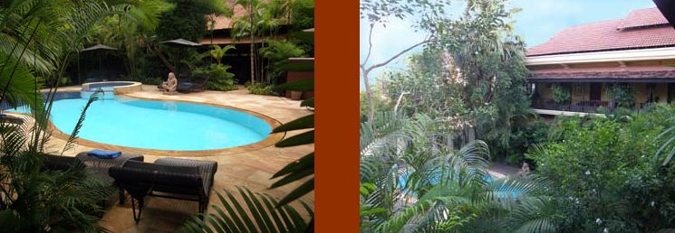 Pavillon indochine boutique hotel siem reap hotels for Jardin indochine
